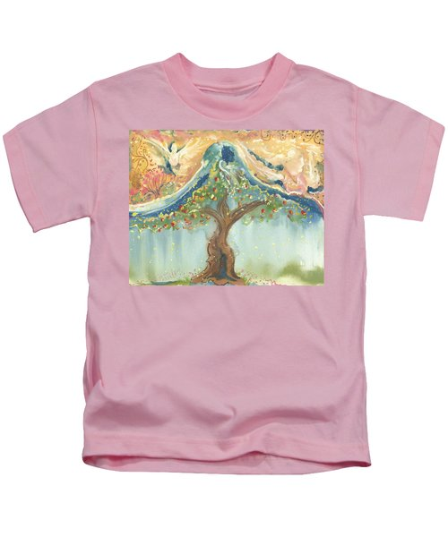 Spiritual Embrace Kids T-Shirt