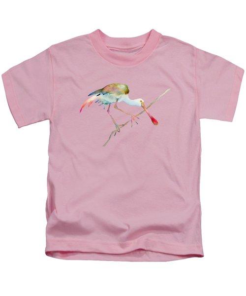 Spoonbill  Kids T-Shirt