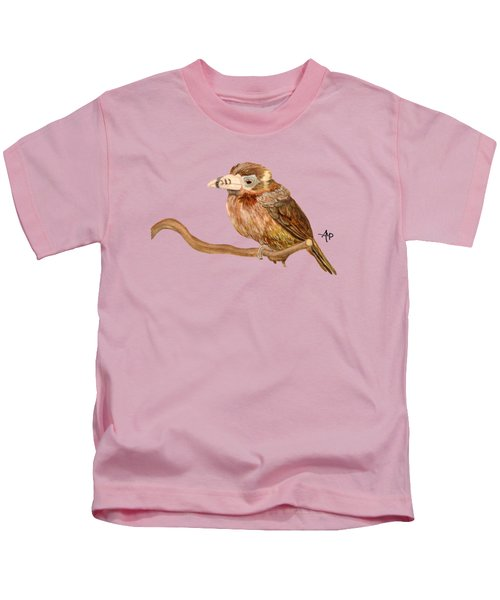 Spot-billed Toucanet Kids T-Shirt