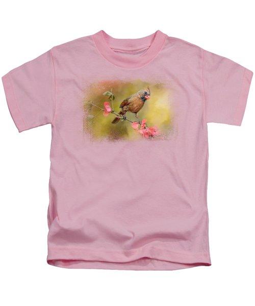 Spring Cardinal 1 Kids T-Shirt