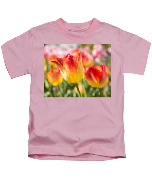 Spring Touches My Soul Kids T-Shirt