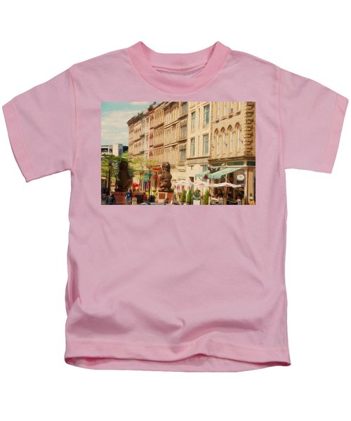 Springtime In Halifax Kids T-Shirt