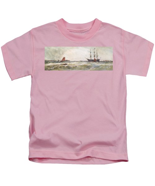 Squally Weather, Portsmouth Kids T-Shirt