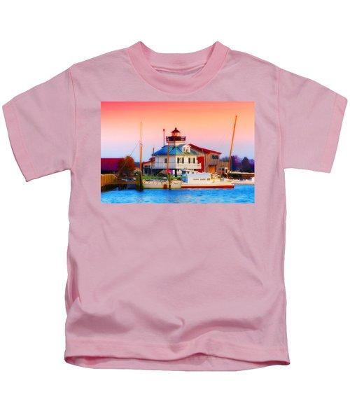 St. Michael's Lighthouse Kids T-Shirt