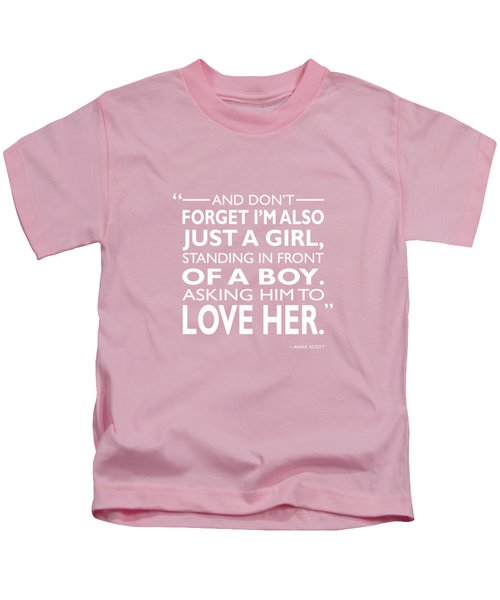 Standing In Front Of A Boy Kids T-Shirt