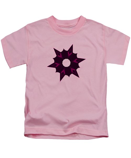 Star Record No. 7 Kids T-Shirt by Stephanie Brock
