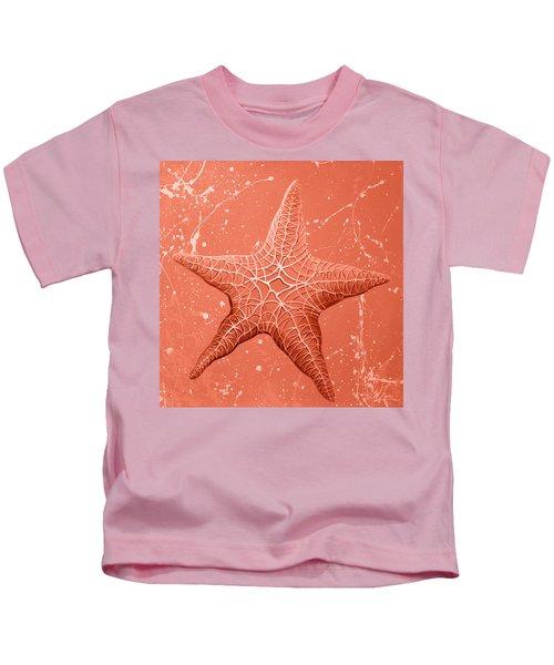 Starfish In Pink Kids T-Shirt