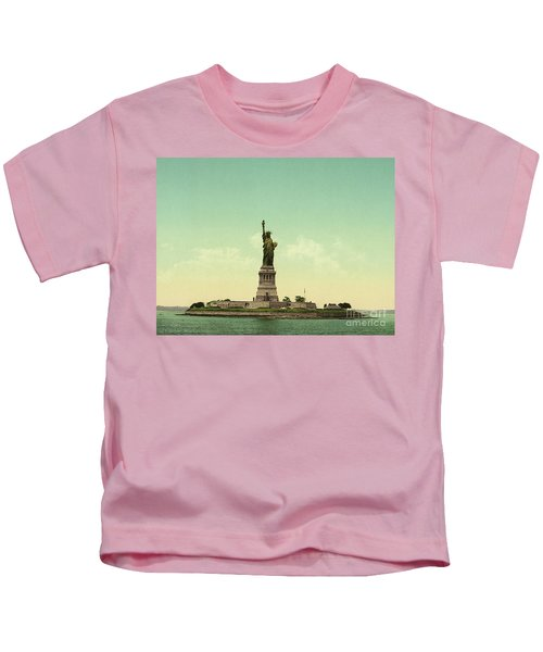 Statue Of Liberty, New York Harbor Kids T-Shirt