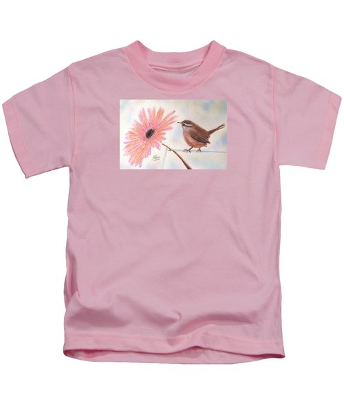 Stopping By To Say Hello Kids T-Shirt