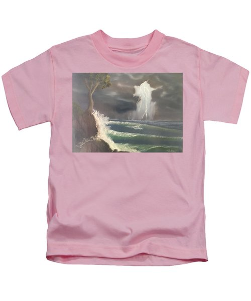 Strong Against The Storm Kids T-Shirt