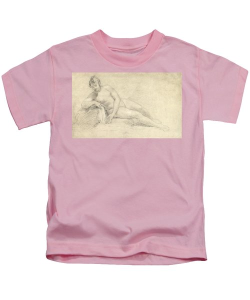 Study Of A Female Nude  Kids T-Shirt