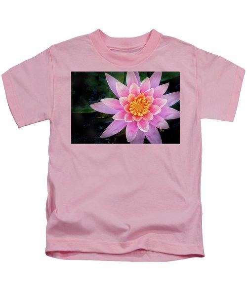 Stunning Water Lily Kids T-Shirt