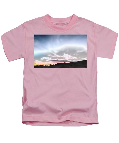 Submarine In The Sky Kids T-Shirt
