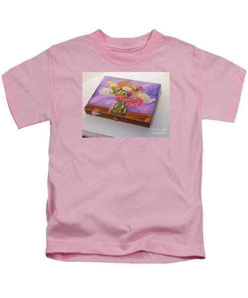 Summer Flowers Kids T-Shirt