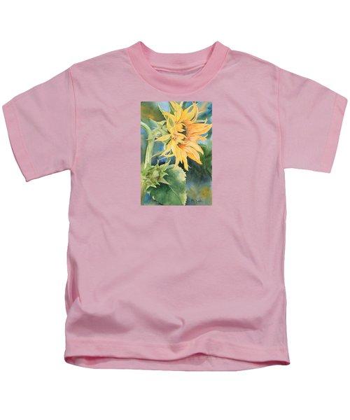 Summer Sunflower Kids T-Shirt