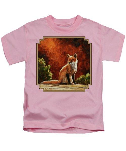 Sun Fox Kids T-Shirt