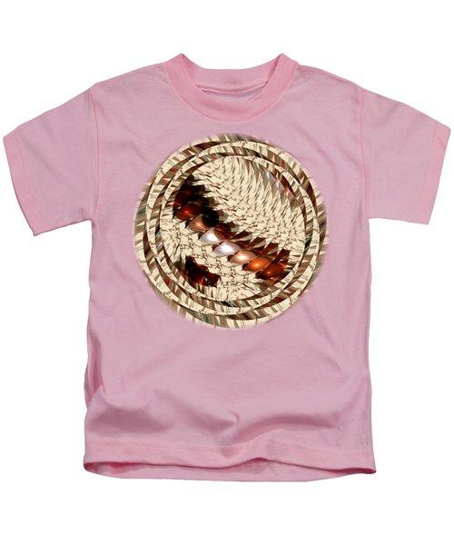 Sun Sand Shadows Kids T-Shirt