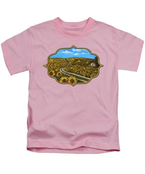 Sunflower Road Kids T-Shirt