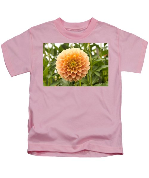 Sunny Dahlia Kids T-Shirt