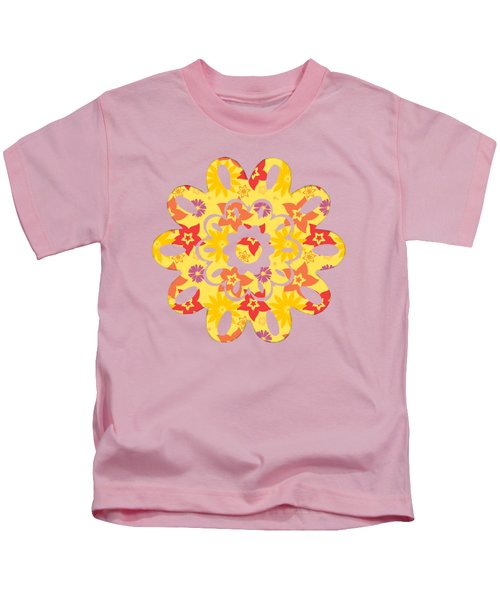 Sunny Flowers Kids T-Shirt