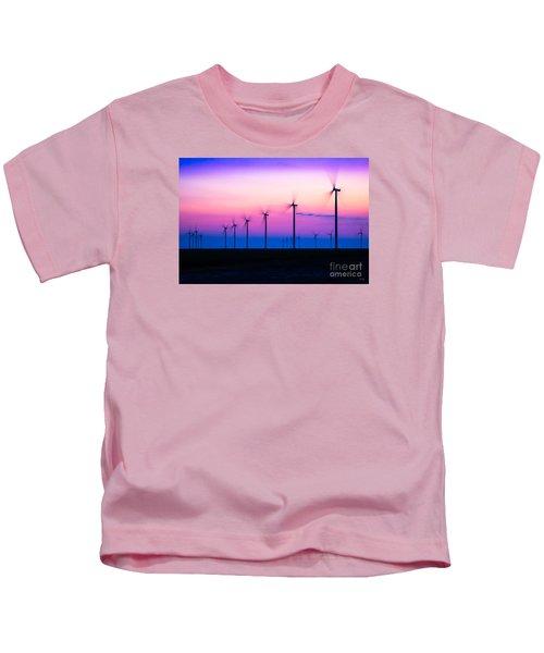 Sunset Spinning Kids T-Shirt