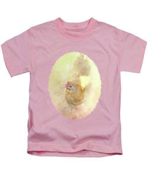 Sunshine And Shadows Kids T-Shirt by Anita Faye