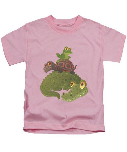 Swamp Squad Kids T-Shirt