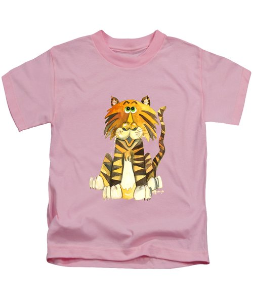 Happy Tiger Kids T-Shirt