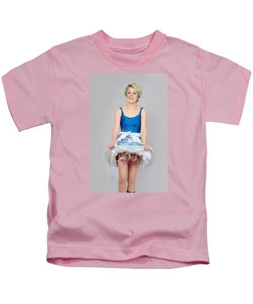 Taetyn In Jelly Fish Dress Kids T-Shirt