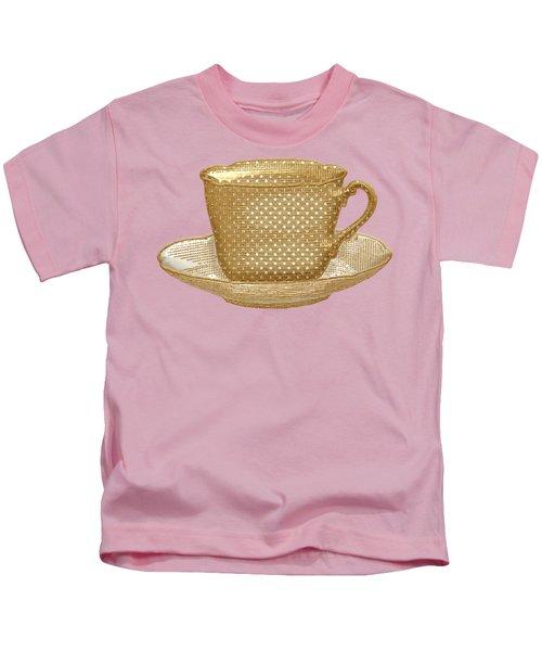Teacup Garden Party 3 Kids T-Shirt