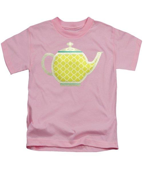 Teapot Garden Party 2 Kids T-Shirt