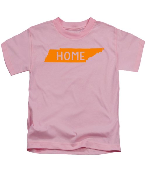 Tennessee Home Orange Kids T-Shirt