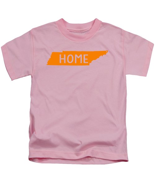Tennessee Home Orange Kids T-Shirt