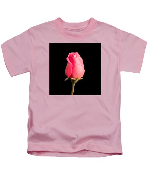 The Beauty Of A Rose Kids T-Shirt
