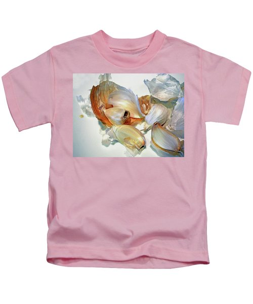 The Beauty Of Garlic Kids T-Shirt