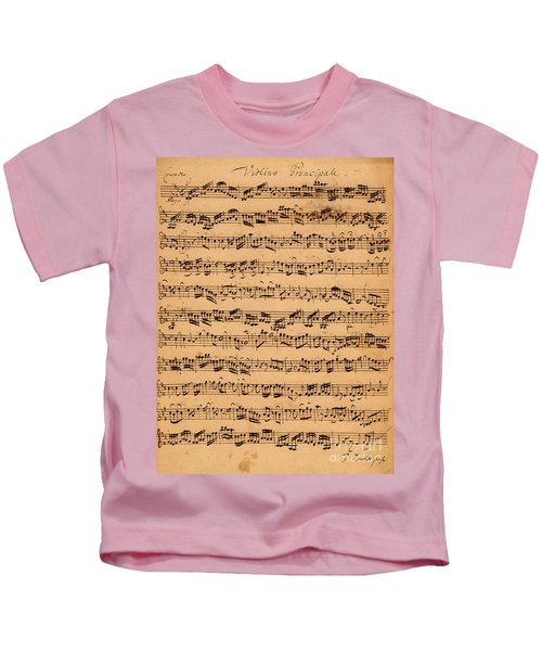 The Brandenburger Concertos Kids T-Shirt
