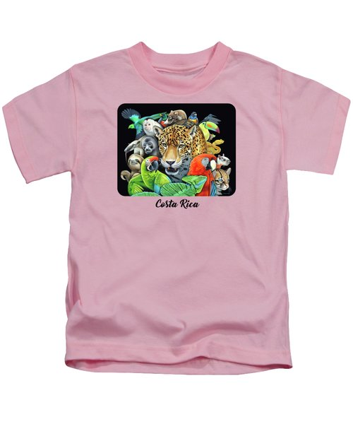 The Circle Of Life Kids T-Shirt by Nathan Miller