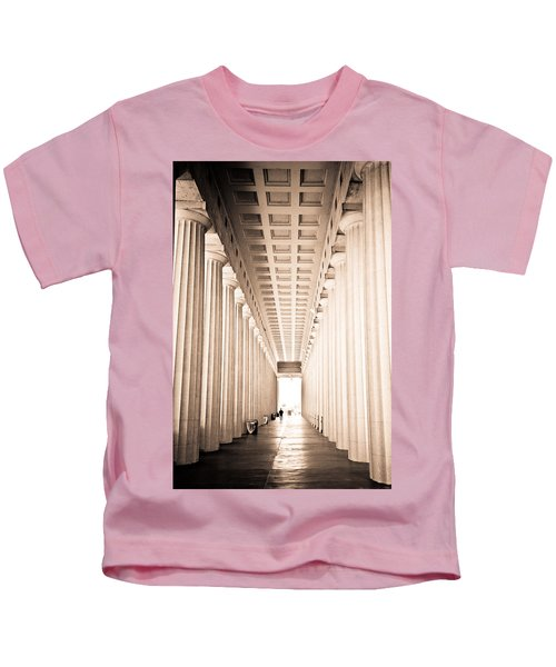The Columns At Soldier Field Kids T-Shirt