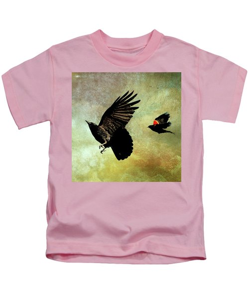 The Crow And The Blackbird Kids T-Shirt
