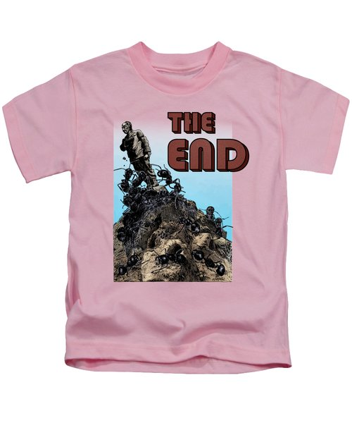 The End Kids T-Shirt by Joseph Juvenal