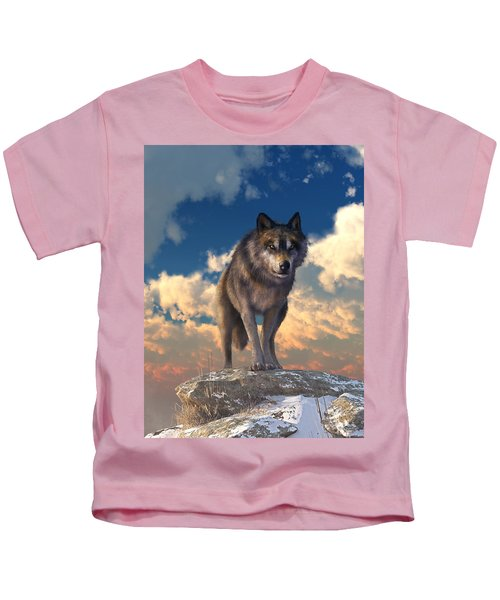 The Eyes Of Winter Kids T-Shirt