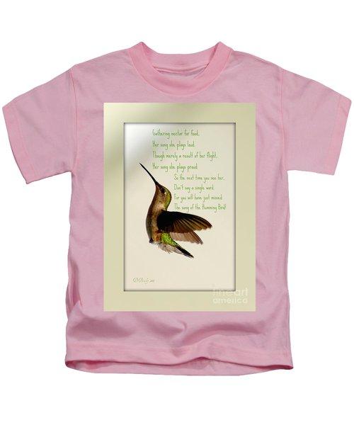The Hummingbird Kids T-Shirt