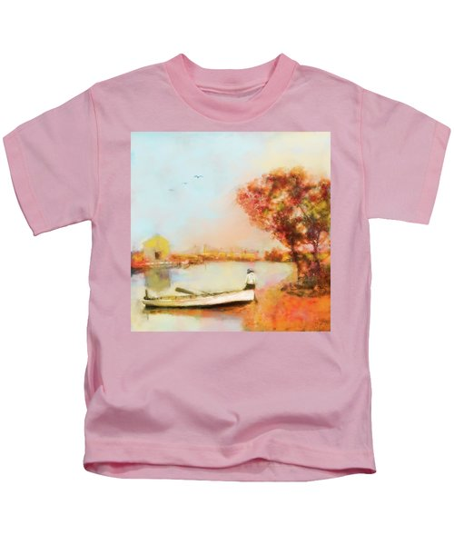 The Life Of A Fisherman Kids T-Shirt