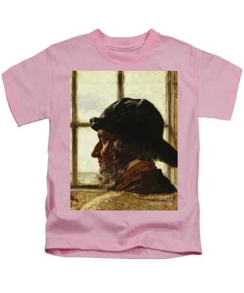 The Old Fisherman, 1873  Kids T-Shirt