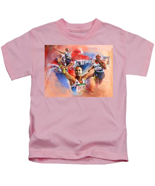 The Olympics Night Of Gold Kids T-Shirt