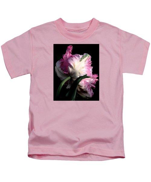 The Parrot Tulip Queen Of Spring Kids T-Shirt