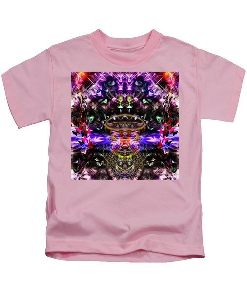 The Power Of Butterfly Lake Kids T-Shirt