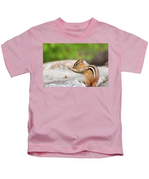 The Praying Chipmunk Kids T-Shirt