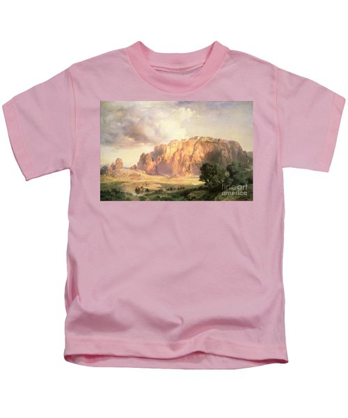 The Pueblo Of Acoma In New Mexico Kids T-Shirt