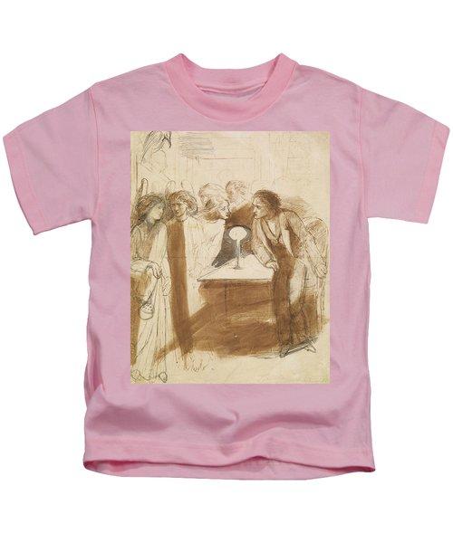 The Raven - Angel Footfalls Kids T-Shirt